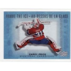 AI-CP Carey Price  Above the Ice Insert Set Tim Hortons 2015-2016 Collector's Series