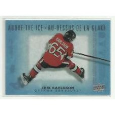 AI-EK Erik Karlsson  Above the Ice Insert Set Tim Hortons 2015-2016 Collector's Series
