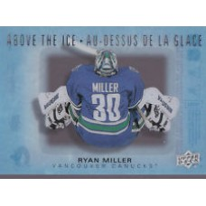 AI-RM Ryan Miller Above the Ice Insert Set Tim Hortons 2015-2016 Collector's Series