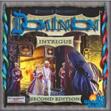 DOMINION INTRIGUE EXPANSION 2nd Edition DECK-BUILDING GAME RIO532