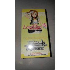 Weib Weiss Schwarz Love Live DX Sealed Box 20 Booster Packs English Edition