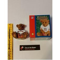 Tampa Bay Buccaneers NFL Elby Powerplay Teddies Teddy Bear 8cm Tall Figurine