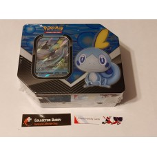 Pokemon Galar Partner Inteleon V Tin - 5 Booster Packs & foil promo card