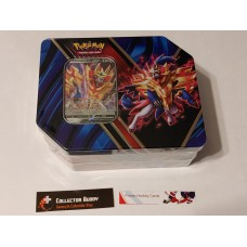 Pokemon Legends of Galar Zamazenta V Tin - 5 Booster Packs & foil promo card