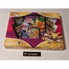Pokemon Alakazam V Box - 4 Booster Packs, Promo & Oversized Card