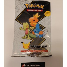 Pokemon First Partner Pack Hoenn 25 years 2 boosters and 3 oversize promo cards
