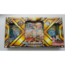 Pokemon - Mega Camerupt - Ex Evolution Premium Collection Box 6 Booster Packs,  Foils, Coin and more
