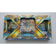 Pokemon - Mega Sharpedo- Ex Evolution Premium Collection Box 6 Booster Packs,  Foils, Coin and more