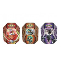 POKEMON - All 3 Mysterious Powers Ho-OH-GX, Necrozma-GX,& Marshadow-GX,  Tins, 3 Foils, 12 Booster Packs - ALL-PO17FAMP