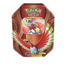 POKEMON -  Mysterious Powers Ho-Oh-GX Ho-Oh GX Tin, Foil, 4 Booster Packs