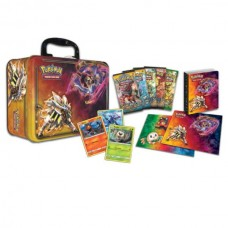 Pokemon Sun & Moon Collector Chest Tin 5 Booster Packs, 3 Foils, Coin, and more POCCT4