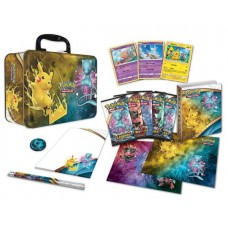 Pokemon Shining Legends Collector Chest Tin Lunchbox TCG 3 Foils, 5 Packs & more