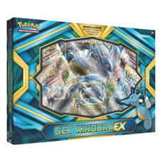 POKEMON Kindra EX Box foil, oversized foil, 4 booster packs