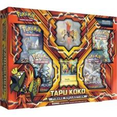 Pokemon Tapu Koko Figure Collection Foil, Figure, 4 Booster Packs