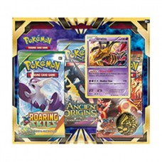 POKEMON Giratina 3pk Blister 3 Booster Packs & Coin POGIB3PK
