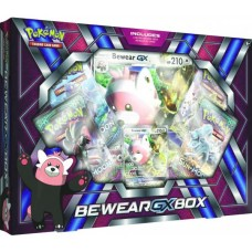 POKEMON - Pokemon Bewear GX Box 4 Booster Packs, Foil, Oversized & more