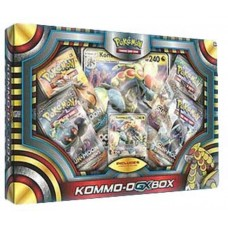 POKEMON - Pokemon Kommo-O GX Box 4 Booster Packs, Foil, Oversized & more