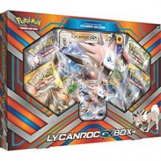 Pokemon Lycranroc GX BOX