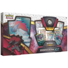 POKEMON GX Box Zoroark 5 Booster Packs, Coin, Foils, and more POGXZOR