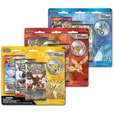 POKEMON - 3 of  3 LEGENDARY BIRDS PIN3PK 3xPOLEBP3PK