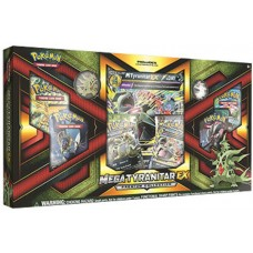 Pokemon - Mega Tyranita - Ex Premium Collection Box 6 Booster Packs,  Foils, Coin and more