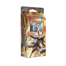 Pokemon - Sun & Moon 3 Burning Shadows - Lycanroc Rock Steady Theme Deck - 60 Cards, coin & more