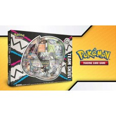 Pokemon Team Skull Pin Collection Box GX Foils, Pin, 5 Booster Packs