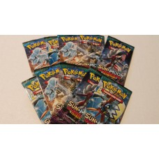 Pokemon -  Sun & Moon  2 Guardians Rising - 10 Booster Packs Lot (10x10 = 100 Trading Game Cards)