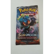 Pokemon -  Sun & Moon 3 Burning Shadows - 1 Booster / Blister Pack 10 Trading Game Cards