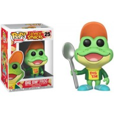 Funko Pop! Ad Icons 25 Kellogg's Honey Smacks Dig Em' Em Frog Pop Vinyl Figure FU30674