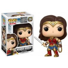 Funko Pop! Heroes 206 DC Justice League Wonder Woman Pop Vinyl Action Figure FU13708