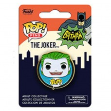 "Funko Pop! Pins DC Batman The Joker 1966 Batman 1.25"" Pop FU8029"