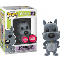 Limited Chase Funko Pop! Disney 412 Doug Porkchop Pork Chop Pop Vinyl Flocked
