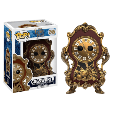 Funko Pop! Disney 245 Beauty and the Beast - Cogsworth Vinyl Figures FU12320