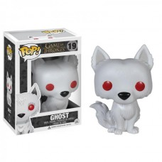 Damaged Box Funko Pop! Game of Thrones 19 Ghost Wolf Pop Vinyl Action Figure FU3876