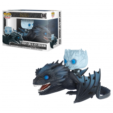 Damaged Box Funko Pop! Rides 58 Game of Thrones Night King on Icy Viserion Pop Vinyl GOT
