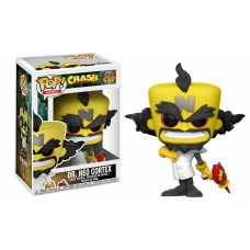 Damaged Box Funko Pop! Games 276 Crash Bandicoot Dr. Neo Cortex Pop Vinyl FU25655