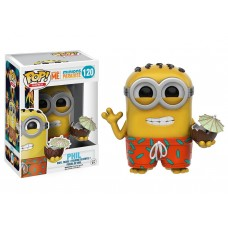 Crease on Back of Box Funko Pop! Games 120 Despicable Me Minions Phil with Coconut Vinyl Figure Pop FU9223