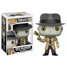 Funko Pop! Games 162 Fallout 4 Nick Valentine Pop Vinyl Figure Vaulted FU12290