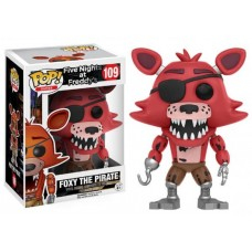 Funko Pop! Games 109 Five Nights at Freddy's Foxy The Pirate Vinyl Action Figure FU11032
