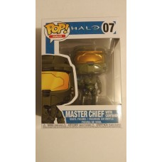 Damaged Box Funko Pop! Games Halo 07 Master Chief with Cortana Pop Vinyl Figure FU30099