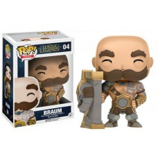 Funko Pop! Games 04 League of Legends Braum Pop Vinyl Action Figure FU10304