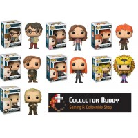 Funko Pop! All Seven Harry Potter 42-48 Harry Herimone Ron Remus Ginny Luna Peter Pop Vinyl Action Figures