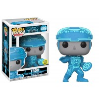 Funko Pop! Movies 489 Disney Tron Tron Glows in the Dark Pop Vinyl FU14700