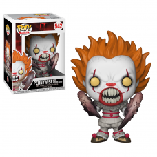 Damaged Box Funko Pop! Movies 542 IT Pennywise with Spider Legs Pop Vinyl Figure FU29526