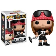 Minor Box Damage Funko Pop! Music Rocks 50 Gun & Roses Axl Rose Vinyl Action Figures FU10688