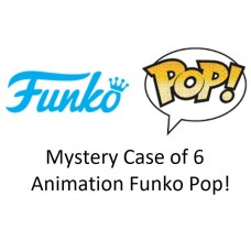 Mystery Case of 6 Animation Funko Pop! Vinyl Figurines