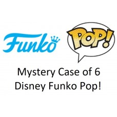 Mystery Case of 6 Disney Funko Pop! Vinyl Figurines