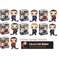 Funko Pop! All 7 NHL 20-26 Canada Exclusive Pop Matthews Marner Weber Laine Karlsson Horvat Gaudreau