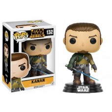 Funko Pop! Star Wars 132 Rebels Kanan Vinyl Action Figure Bobble Head FU10770